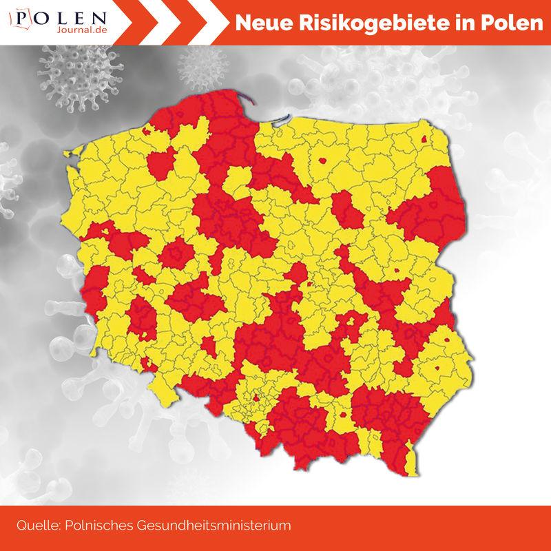 Polen Corona Risikogebiet