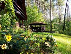 Garten und Lagerfeuerstelle