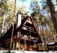 Winterurlaub in Masuren - Ferienhaus mit Sauna