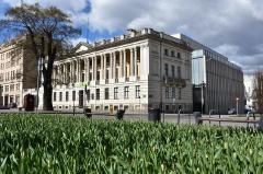 Raczyński-Bibliothek in Poznań / Posen