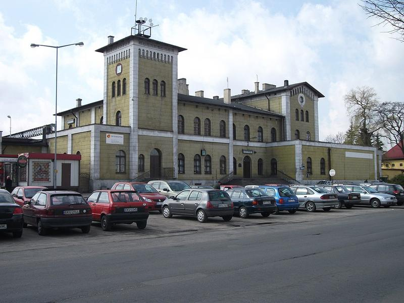 Bahnhof in Kutno / Bild: Westborder via Wikimedia Commons