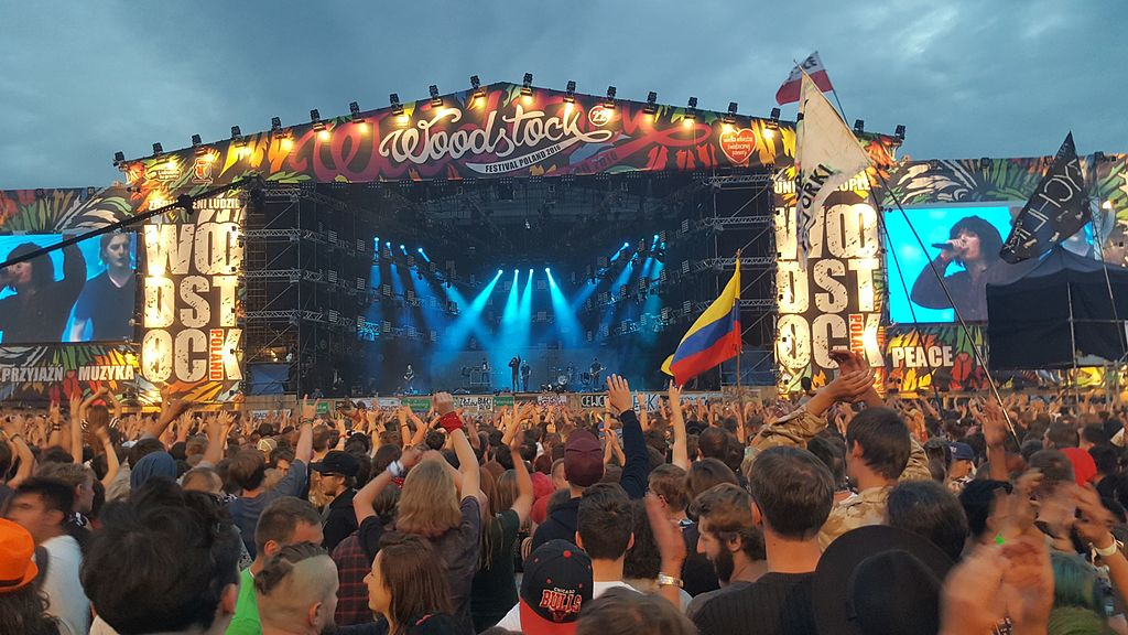 Bring Me the Horizon-Auftritt auf dem Haltestelle Woodstock-Festival 2016 / Foto: Andreas Möller (Own work) [CC BY-SA 3.0 (http://creativecommons.org/licenses/by-sa/3.0)], via Wikimedia Commons