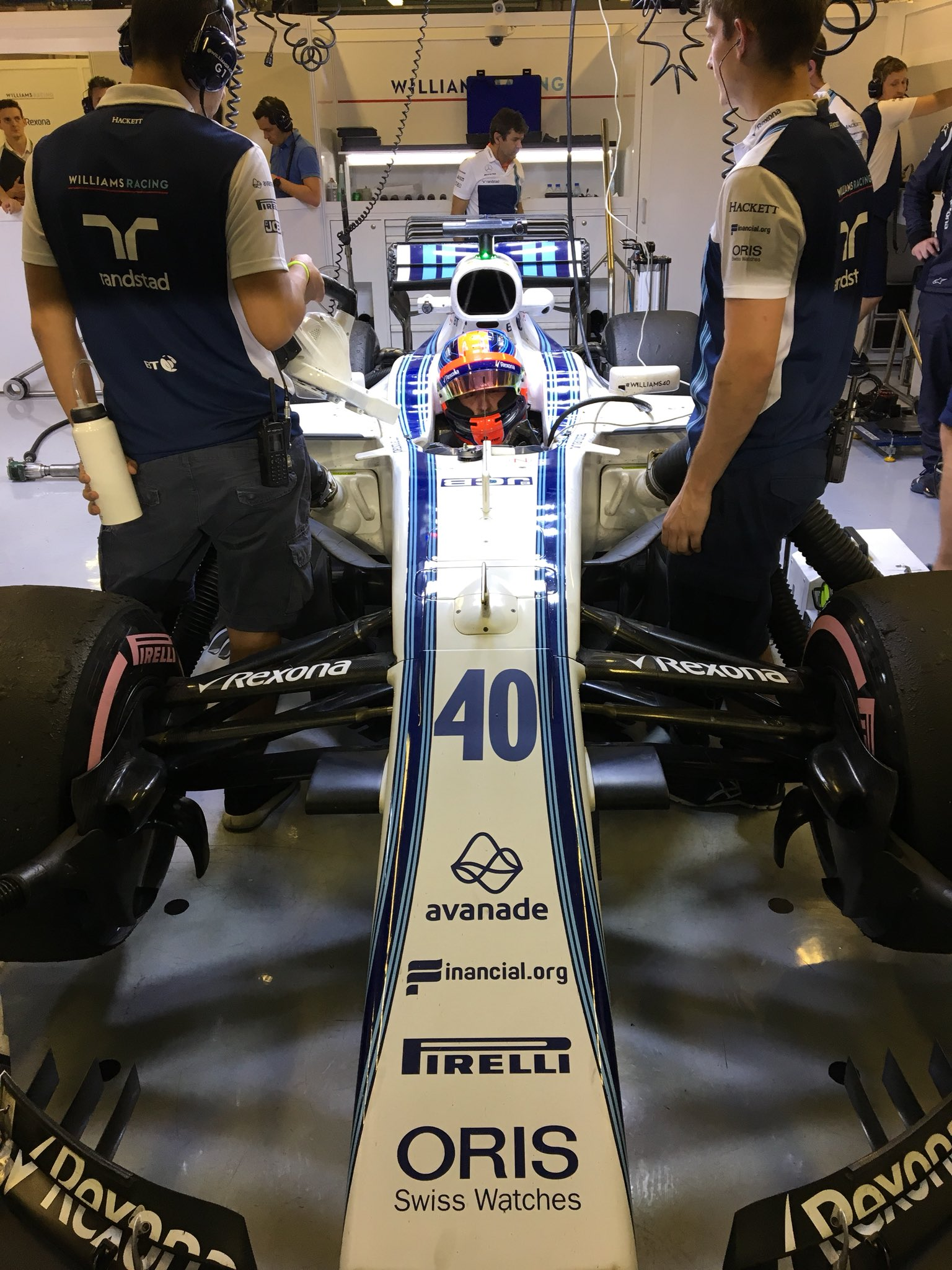 Foto: WILLIAMS RACING / Twitter