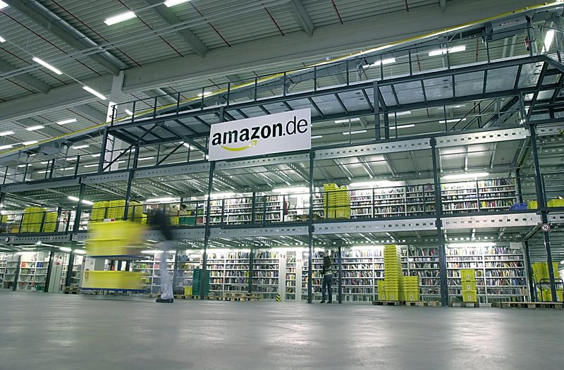 Logistikzentrum in Bad Hersfeld (Foto: Amazon)