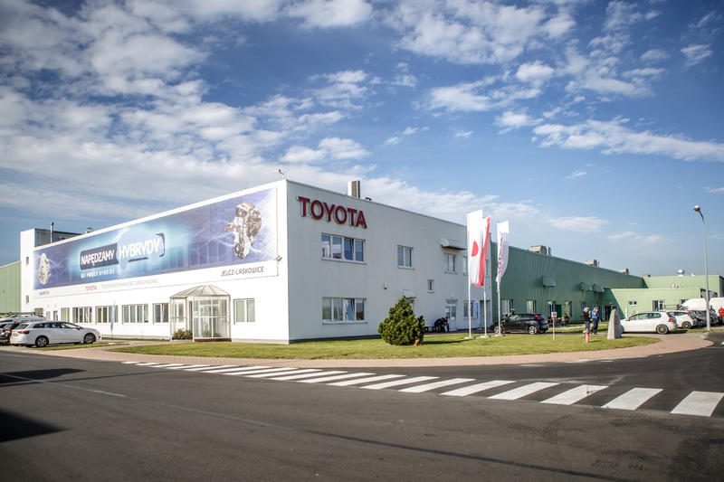Foto: Pressematerialien /  Toyota Motor Manufacturing Poland (TMMP)